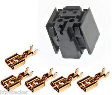 Sockel Kfz Mini Relais 5 x 6,3mm Flachsteckhülsen Relaissockel Halter Fassung