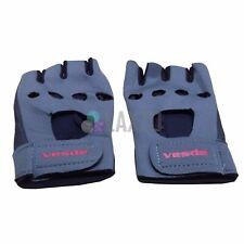 Wholesale Job Lot 5x Pairs Bicycle Gym Gloves Half Finger Dotted GEL Grip Black
