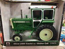ERTL Oliver 1655 Tractor With Hiniker Cab 1/16 NIB