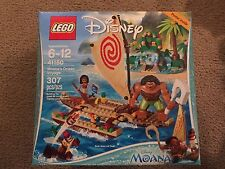 Lego 41150 Moanas ocean voyage banana pineapple map oar heart of Te Fiti maui