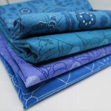 Alison Glass Sunprints BLUES 4 x Fat Quarter bundle - Makower 100% cotton
