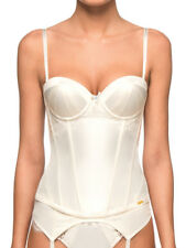 Ultimo Bridal Strapless Basque Underwired Moulded Corset Sexy Wedding Lingerie