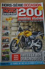 MOTO JOURNAL HS 3001 HORS SERIE ★ GUIDE D'ACHAT ★ SPECIAL OCCASIONS Edition 2010