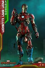 HotToys MMS580 1/6 LED Iron Man Illusion Zombie Spider-man Action Figure