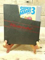 Super Mario Brothers 3 - NES Nintendo Game Bros III Cart and Sleeve TESTED