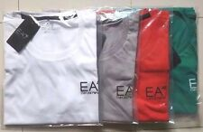 MENS EA7 EMPORIO ARMANI SHORT SLEEVE CREW NECK T-SHIRT EARLY SUMMER SALE