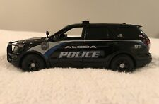 Alcoa Tennessee Police Department diecast SUV Motormax 1:24 scale