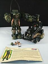 GI Joe 2003 Desert Coyote and 2004 Defense Mech with Accessories