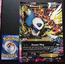 Mega Absol EX JUMBO XY63 XY PROMO Pokemon Card HOLO RARE Near Mint