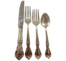 American Classic by Easterling Sterling Silver Flatware Set 8 Service 37 Pcs