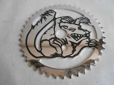 Mongoose 44T Chrome Steel BMX Bike Bicycle Sprocket Chain Ring