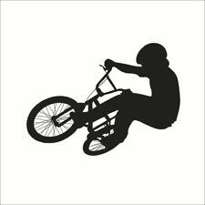 Black Riding Bike Room Home Decor Removable Wall Stickers Decals Decoration