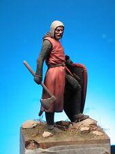 Sk miniatures richard the lionheart crusader 70mm non peinte kit mike blank