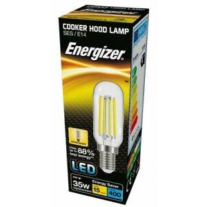 Cooker Hood 4W LED Filament Light Bulb Small Edison Screw SES E14 Energizer