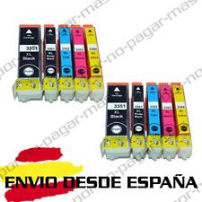 10 CARTUCHOS DE TINTA COMPATIBLE NON OEM PARA EPSON XP 530 | XP 630 T33