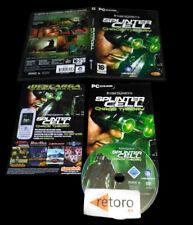 SPLINTER CELL CHAOS THEORY PC DVD-ROM Pal-España Castellano Completo Ubisoft