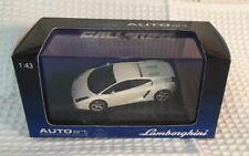 AUTOART LAMBORGHINI GALLARDO BALOON WHITE 1/43 DIECAST MODEL CAR 54564
