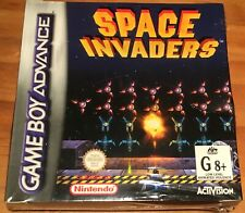 nintendo space invaders game boy advance Australian release new factory sealed