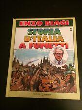 STORIA D'ITALIA A FUMETTI DI ENZO BIAGI VOLUME 2 EDIZIONE MONDADORI