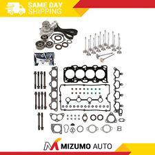 Head Gasket Set Valve Timing Belt Kit Water Pump Fit 99-05 Hyundai Kia 2.4L DOHC