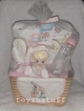 Rare 2006 Precious Moments Baby Luv N Care Baby Girl Baby Shower Gift Basket