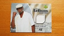 2006-07 Upper Deck The Lebrons Thread Wise Lebron James Shirt Memorabilia Jersey