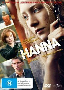 Hanna (DVD,2011)  Region 4 NEW+SEALED
