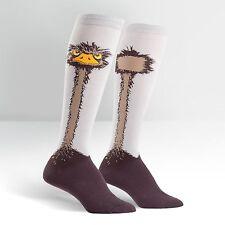 Sock It To Me Women's Funky Knee High Socks - Ostrich