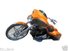 "USA Made 3"" Black Windshield for  TOURING  FLHX   FL Harley Davidson 96 -2013"