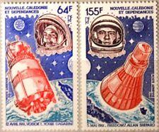NEW CALEDONIA NEUKALEDONIEN 1981 664-65 C172-73 Gagarin Shepard Space MNH