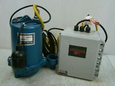 Sta Rite 12hp 115v Submersible Sewage Pump With Control Panel Ht750120t