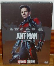 ANT-MAN SLIPCOVER FUNDA DE CARTON  DVD NUEVO ACCION AVENTURAS (SIN ABRIR) R2