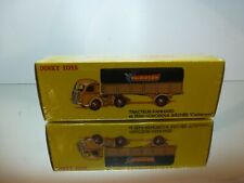 DINKY TOYS ATLAS 32AN PANHARD TRUCK + TRAILER CALBERSON - UNUSED IN SEALED  BOX