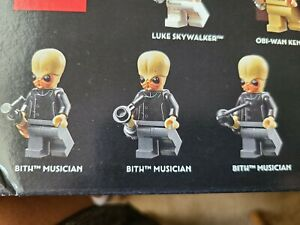 LEGO Custom Star Wars Set BITH MOS EISLEY CANTINA BAND with Instruments **NEW**