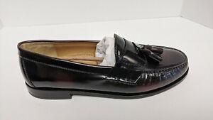 Cole Haan Pinch Tassel Loafers, Burgundy, Men's 11.5 E