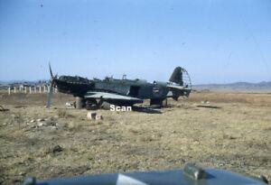 Original 35 mm Slide Korean War/Military Taken by US soldier 1950-1953 #K093