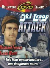 Ski Troop Attack DVD, 2002 in B&W Hollywood Classics B Movie Michael Forest