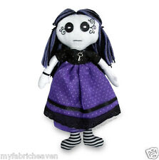 Gothic Rag Doll 10 Inch Independent Design SEWING PATTERN Printed, Halloween