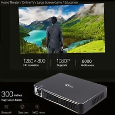 True 8000Lumens 4000:1 Full HD 1080P DLP 3D Wifi Home Theater Projector LED HDMI