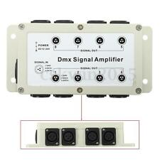 LED Controller DMX 8 Channel Output DMX512 Signal Amplifier Splitter Distributor