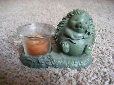 Hedge Hog Tea Light / Candle Holder, Seasons of Cannon Falls