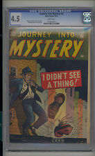 Journey into Mystery #3 CGC 4.5 VG+ Atlas Marvel Classic Cover Scarce WHITE Pgs