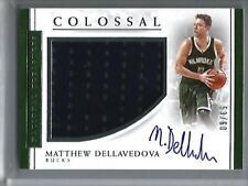 2e43f95105a Matthew Dellavedova 16 17 National Treasures Autograph Game Used Jersey   53 60