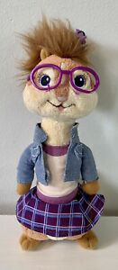 Alvin & The Chipmunks Jeanette TY Plush Chipettes With Glasses