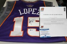 Robin Lopez Signed Phoenix Suns Autographed Jersey Beckett COA Suns Letter NBA