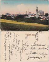 Kamenz Kamjenc Blick auf die Stadt Oberlausitz 1916