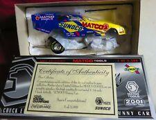 CHUCK ETCHELLS 1/24 2001 RC--MATCO TOOLS CAMARO FUNNY CAR, SUNOCO