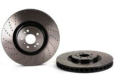 For 2010-2012 Mercedes-Benz GL450 Front Calipers+Brake Rotors+Pads+Hardware