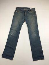 """Men'S DIESEL """"PADDOM"""" Jeans-W31 L34-Sfumata Blu Scuro Wash-ottime condizioni"""