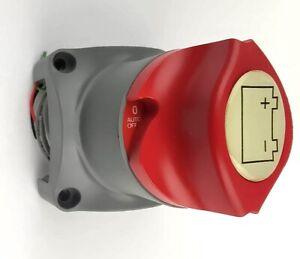 Osculati Batteriehauptschalter Électrique Interrupteur à Distance 275A